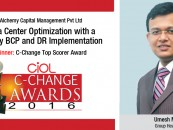 Alchemy Capital Management Pvt Ltd's: Data Center Optimization with a 3-Way BCP and DR Implementation