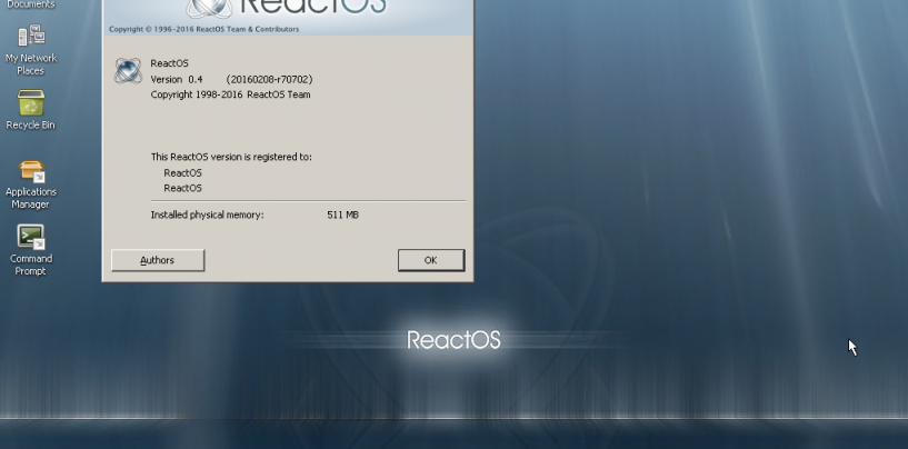 ReactOS- An Open Source Windows Replacement