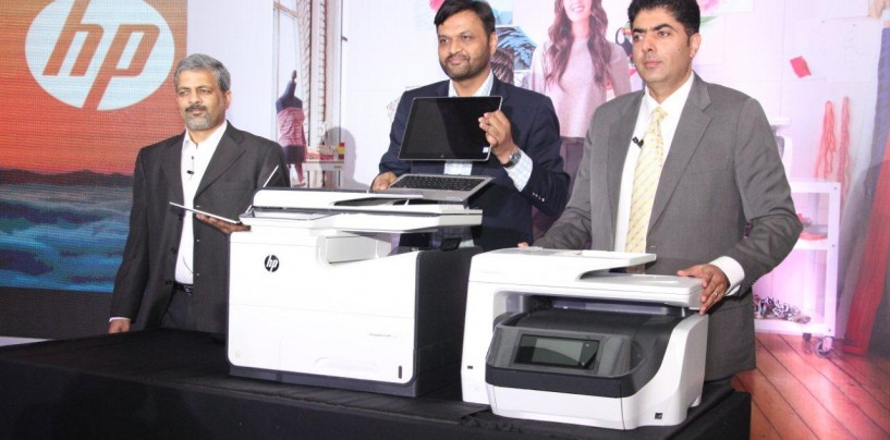 HP Inc. India Launched Business Printing with New Portfolio and PageWide Product Line