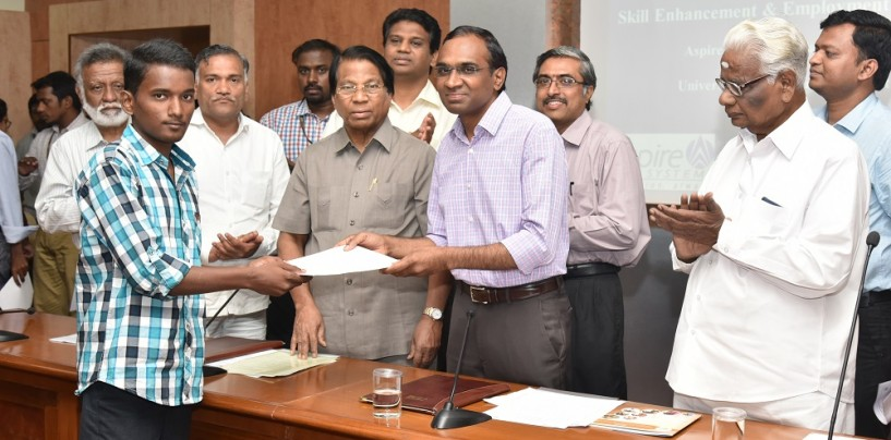 Vellore to Have IT Education Program Through Joint Collaboration Between Aspire Systems and Universal Higher Education Trust