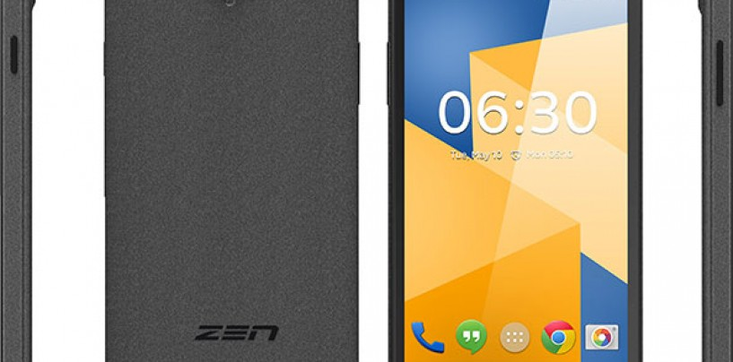 Zen Mobile Launches Cinemax 3 Smartphone at INR 5499