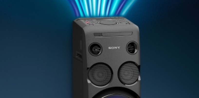 Sony Launches New Portable High Power Audio Systems- GT4D and V44D