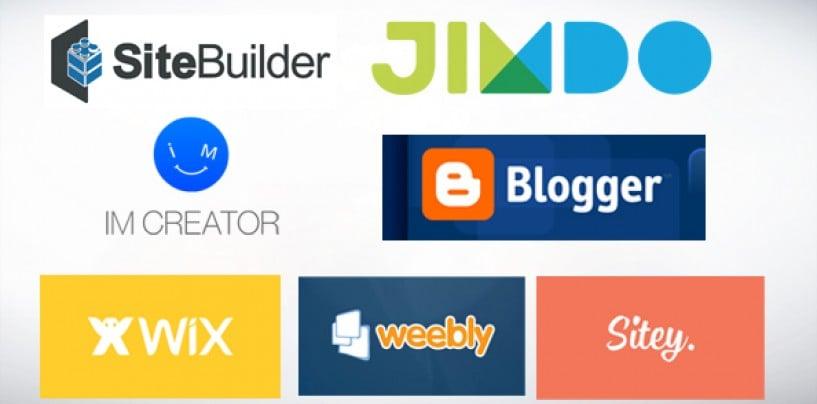 7 Popular Website Builders