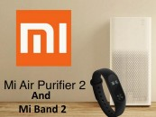 Xiaomi launches Mi Air Purifier 2 and Mi Band 2 in India