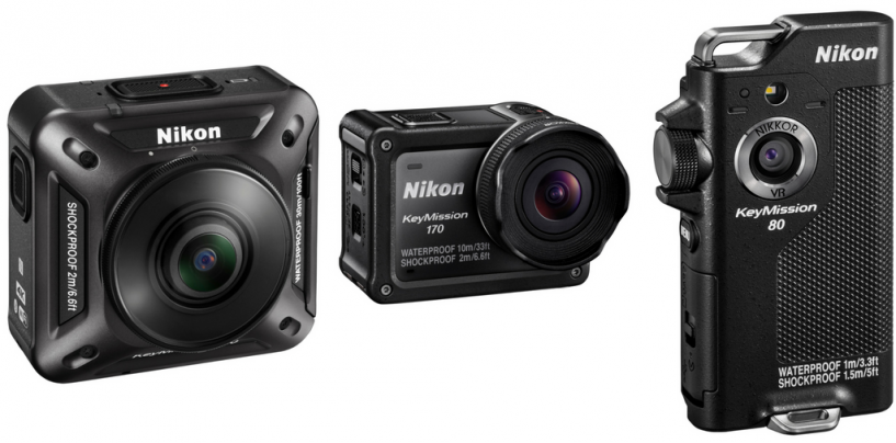 Nikon Introduces KeyMission Camera Series for Thrill-seekers