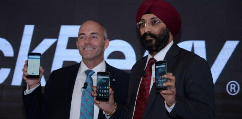 BlackBerry Brings Two New Smartphones in India DTEK50 & DTEK60