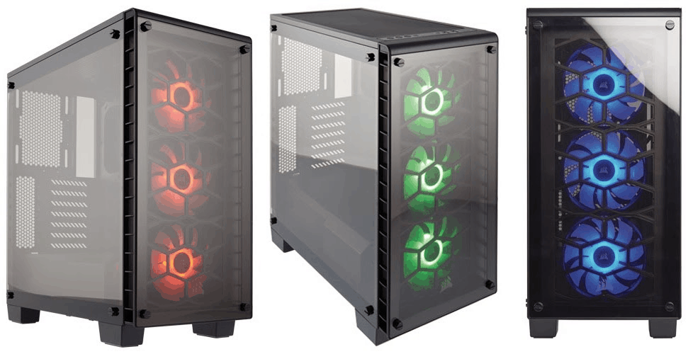 Corsair Launches Crystal Series 460X RGB Compact ATX Mid-Tower ...