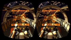 Galaxy VR Cardboard Space FPS VR games for Google Cardboard