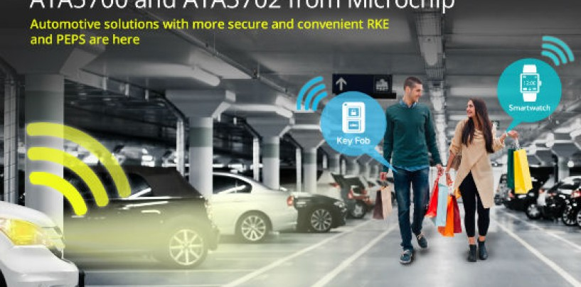 Industry's Lowest-power Vehicle Access Solution For Smart Keys And Wearables