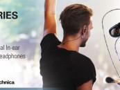 Audio-Technica Launches New E-Series Professional Monitor Earphones