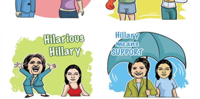 A Funny App That Lets You Express Support to Hillary Clinton or Donald Trump