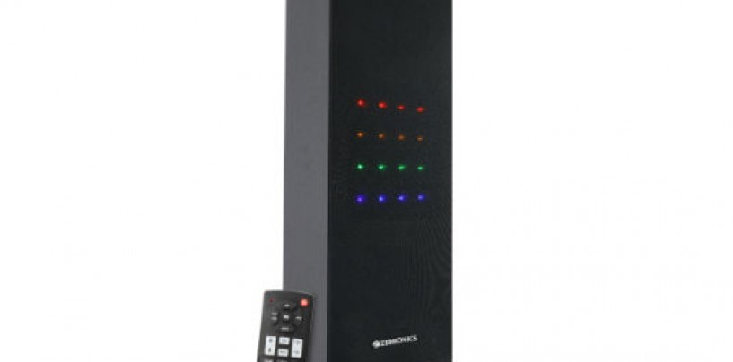 Zebronics Unveils Portable Single Tower Speaker 'Monster sound with Blaster'