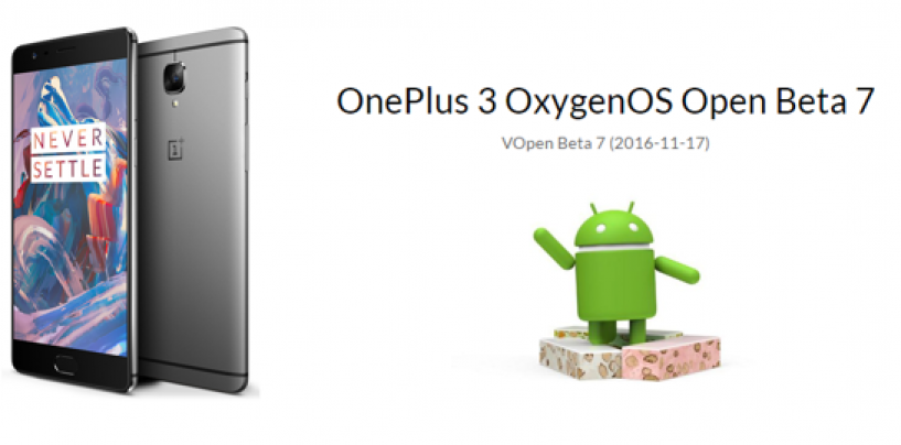 OnePlus 3 Gets Open Beta Upgrade of Android N Before 3T
