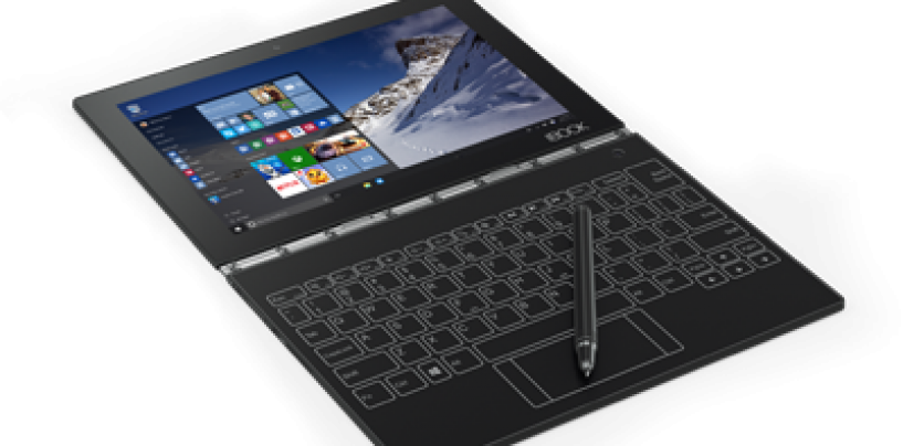Lenovo Yoga Book: An Ultra-Thin Hybrid Laptop for Basic Productivity@Rs 49,990