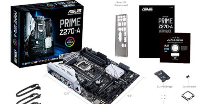 Asus Prime Z270-A Review: The feature-rich motherboard, classic looks, excellent performance