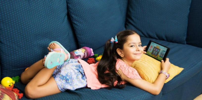 "Convegenius Slate: A 7"" Lenovo Tab Modified as an Educational Platform For Kids"