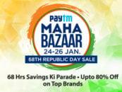 Paytm Maha Bazaar Sale: 24-26 Jan 2017