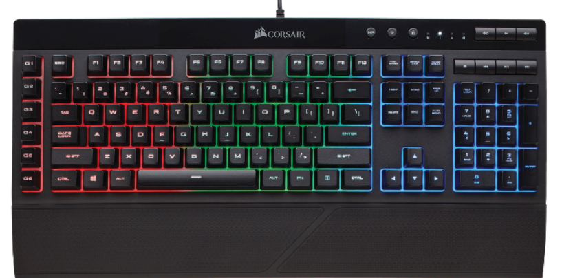 Corsair Unveils K55 RGB Gaming Keyboard