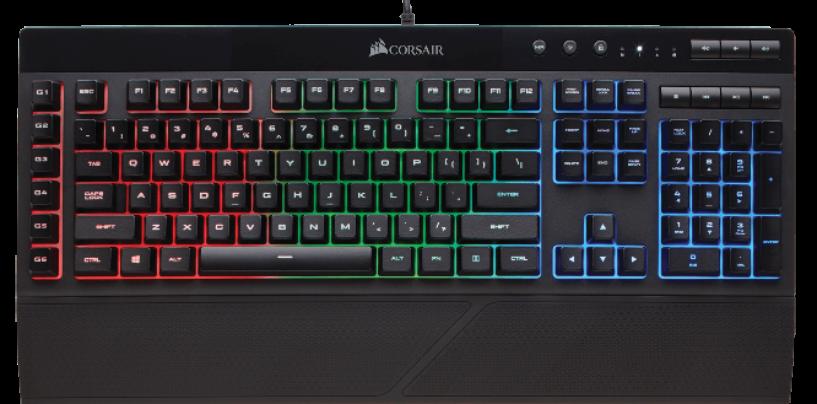 Corsair Unveils K55 RGB Gaming Keyboard