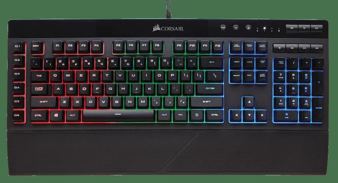 Corsair Unveils K55 RGB Gaming Keyboard - PCQuest