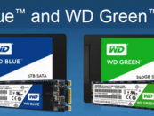 WDC launches WD Blue and WD Green SSDs Resulting in Quick Boot Times and Increased Program Responsiveness