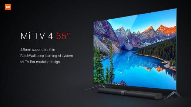 Xiaomi Amazes At Ces 2017 With Mi Tv 4 Modular Smart Tv Thinner