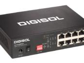 DIGISOL launches 8 Port Gigabit Ethernet Unmanaged PoE Switch