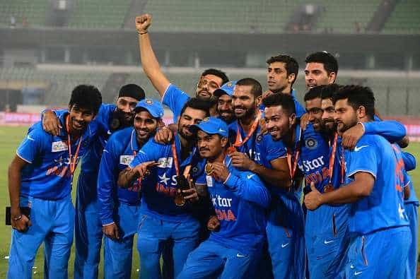 Indian Team For Bangladesh Tour Schedule