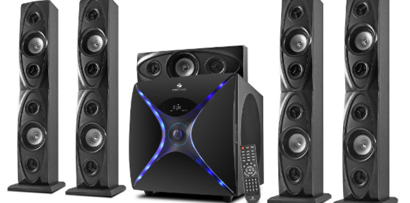 Zebronics 5.1 Dhoom Speakers for Monster Sound