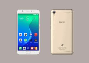 TECNO smartphone i5