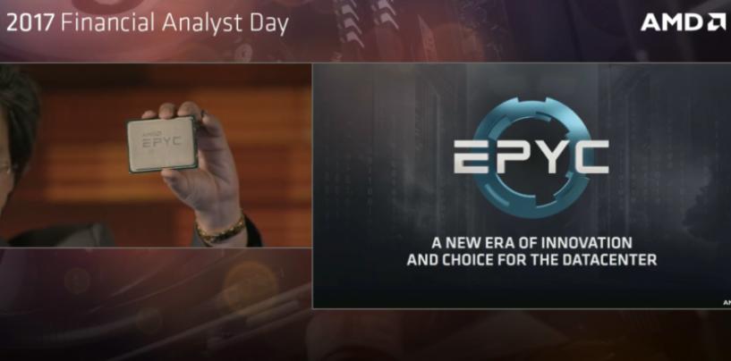 AMD Unveils EPYC Processor Brand for high-performance