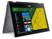Acer Unveils Spin 1 Convertible Notebook