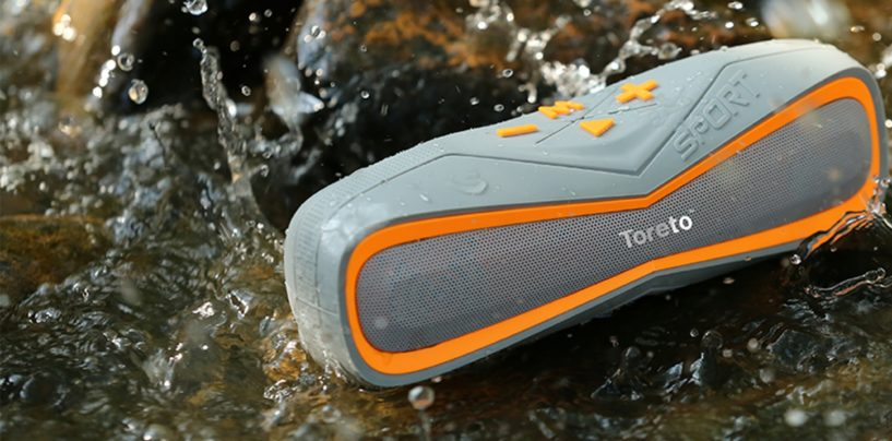 "Toreto launches ""Aqua"" – Waterproof Bluetooth Speaker TBS 325"