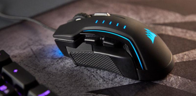 CORSAIR Launches GLAIVE RGB Gaming Mouse