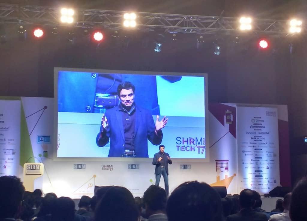 Mr. Krish Shankar, Group Head, HR Development – Infosys during the session