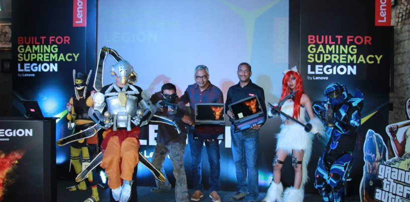 Lenovo Brings Its New Gaming Brand 'Legion' To India