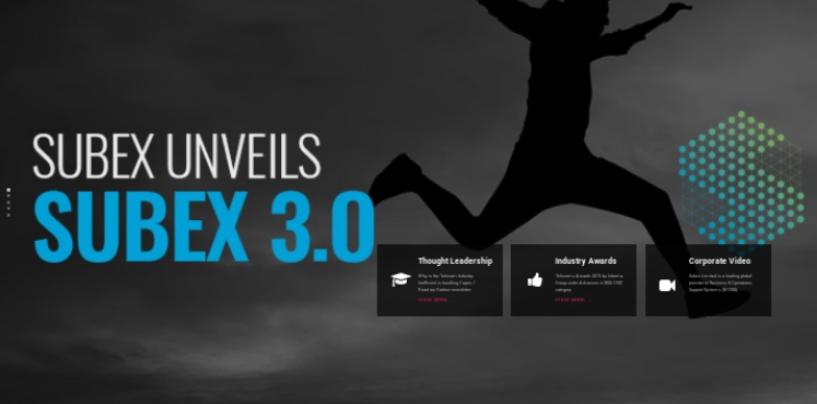 Subex announces the Launch of Subex 3.0