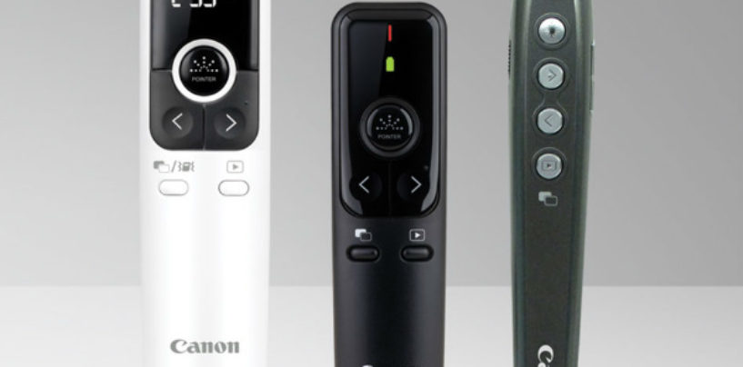 Canon India enters the Wireless Laser Presenters Domain