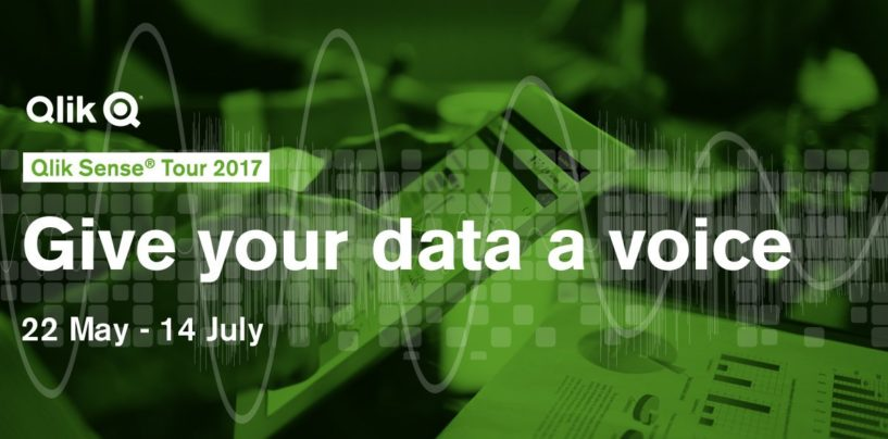 Qlik gives data a voice with Qlik Sense Tour 2017