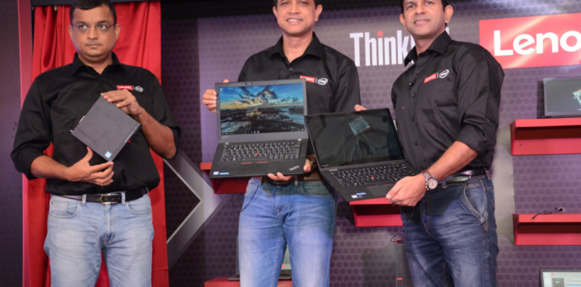 Lenovo launches 2017 range of legendary Think PCs powered by Intel