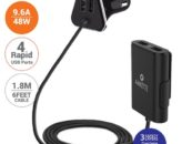 Amkette Launches 4 Port Front & Back Seat Car Charger PowerPro