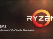 AMD Ryzen 3 Processors Mainstream Desktop Lineup