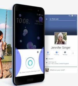 HTC U11 Review: Edge Sense