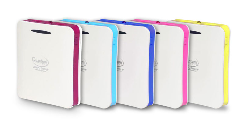 Quantum unveils 10400mah Power bank priced at Rs. 1499/-