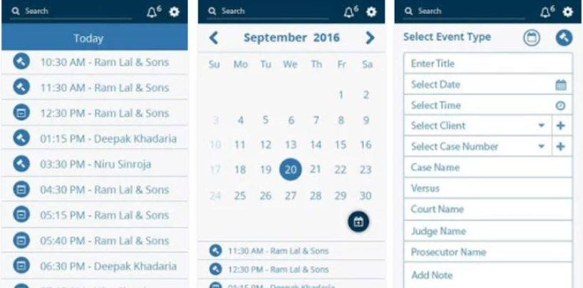 SooLEGAL App: An Office Assistant to the Lawyers