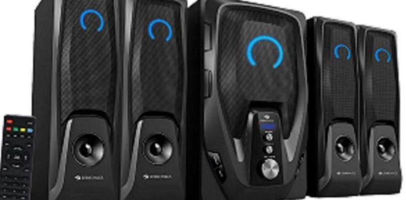 """Zebronics Launches """"Mambo"""" 4.1 Speakers Priced at Rs. 5353"""