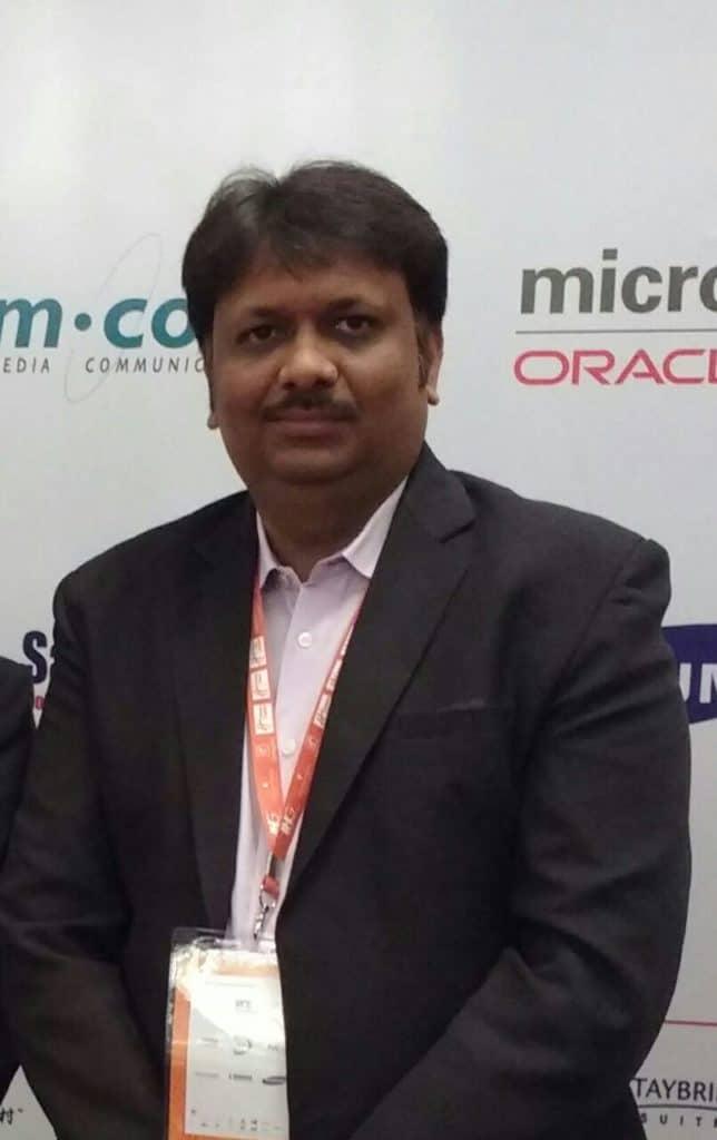 Mr. Sachin Watkar. Business Unit Head, Private Network System, NEC India