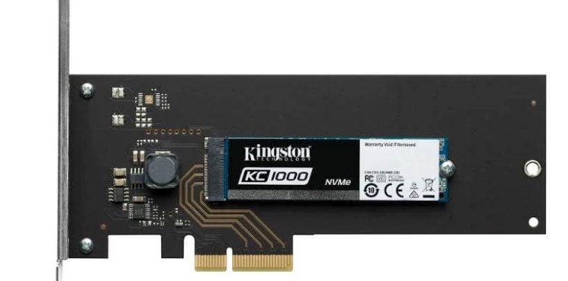Kingston KC1000 NVMe PCIe SSD Review