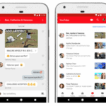 YouTube, chat feature, Android, iOS apps