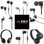 F&;D Series of Earphones & Headphones -